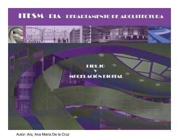 Dibujo Asistido por Computadora - Dibujo y Modelación Digital C2.1