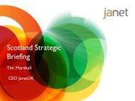 Scotland Strategic Briefing - Janet
