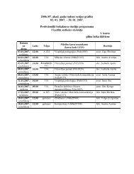 2006./07. akad. gada rudens sesijas grafiks 02. 01. 2007. – 30. 01 ...