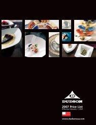 2007 Price List - Dudson USA