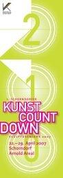 KUNST COUNT - Kulturforum Schorndorf