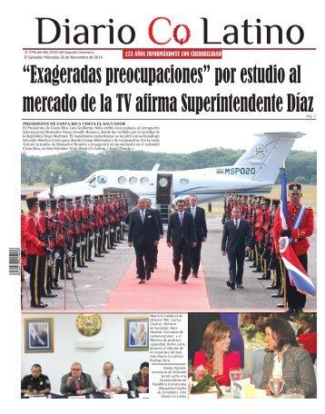 Edición 26 de Noviembre de 2014