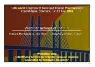 Vascular actions of insulin - WorldPharma 2010