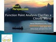 Cloud Perspectives - bfpug