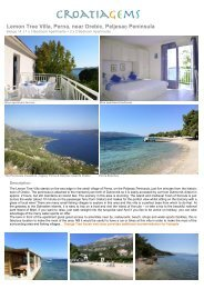 Lemon Tree Villa - Croatia Gems
