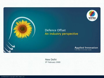 Defence Offset An industry perspective - Global Offset and ...