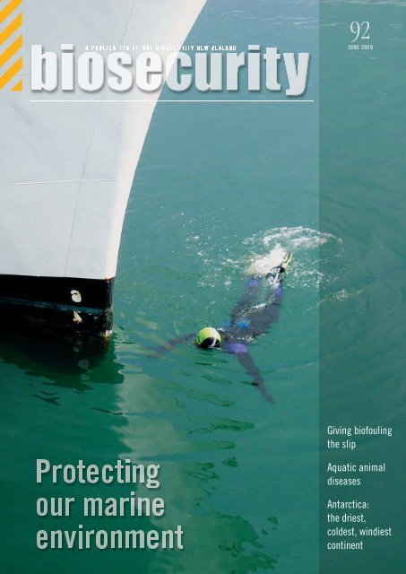 Biosecurity magazine - Biosecurity New Zealand