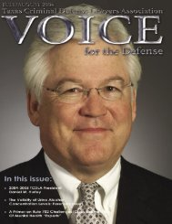 July/August 2004 VOICE FOR THE DEFENSE 1