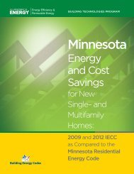Minnesota - Building Energy Codes