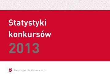 NCN_statystyki 2013_PL