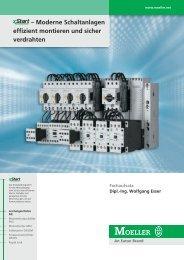 Moderne Schaltanlagen effizient montieren und sicher ... - Moeller