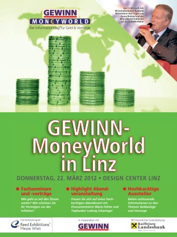 MoneyWorld am 22. März in Linz - GEWINN-MoneyWorld Linz 2012
