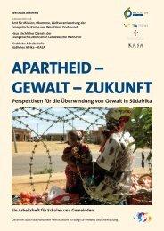 Apartheid - Gewalt - Amt für Mission, Ökumene und kirchliche ...