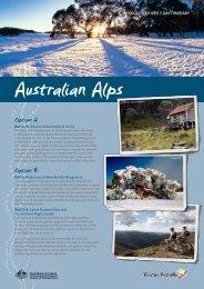 Australian Alps itinerary - Tourism Australia