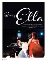 great 20th century vocalist in Ella—the Musical. - CenterREP.org