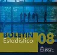 Boletín Estadístico 2008 - Universidad Nacional de Colombia