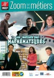 Zoom sur les métiers des mathématiques - SMAI - Emath.fr