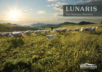 Die Naturpur-Matratze - LUNARIS Mondholzbett