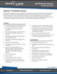 biSensor Soil Moisture Sensor Technical ... - Baseline Systems