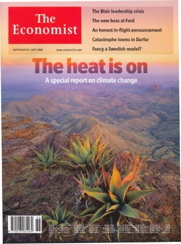 The article in the Economist