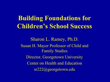 Dr. Ramey's PowerPoint presentation