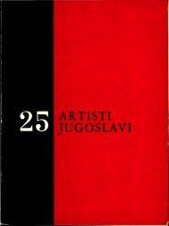 ARTISTI JUGOSLAVI