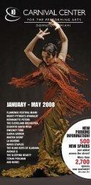 2008 Spring Brochure - Adrienne Arsht Center