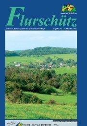 105. Ausgabe vom 08.10.2005 - Gemeinde Morsbach