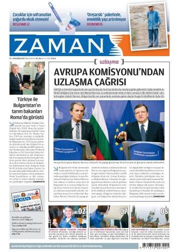 Sayı 25: 24 – 30 Haziran 2013 - Zaman Bulgaristan