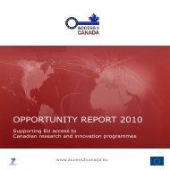 OPPORTUNITY REPORT 2010 - Access4.eu
