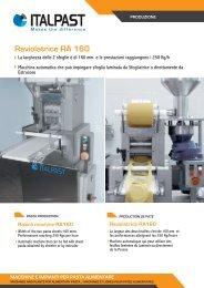 Raviolatrice RA 160 - Italpast