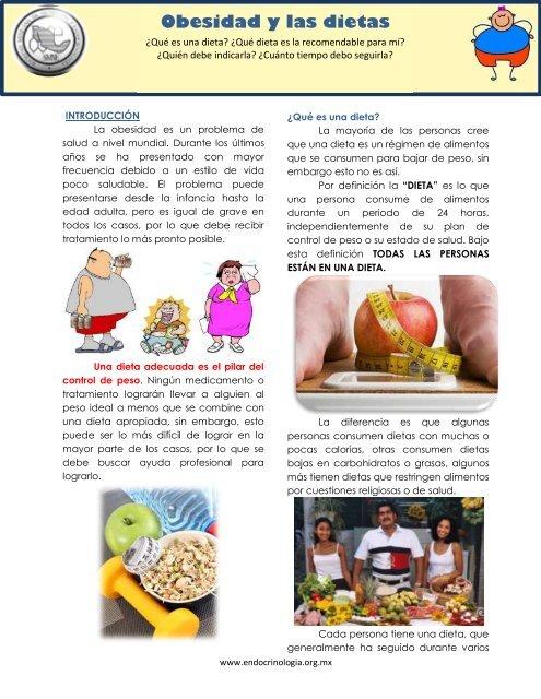 Dieta para bajar de peso adolescentes mexicanas