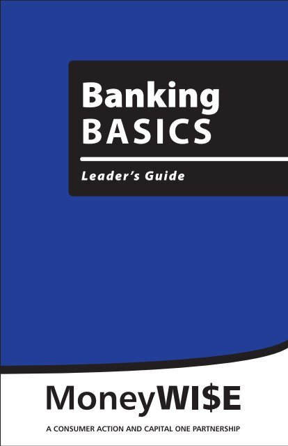 Banking BASICS - Consumer Action