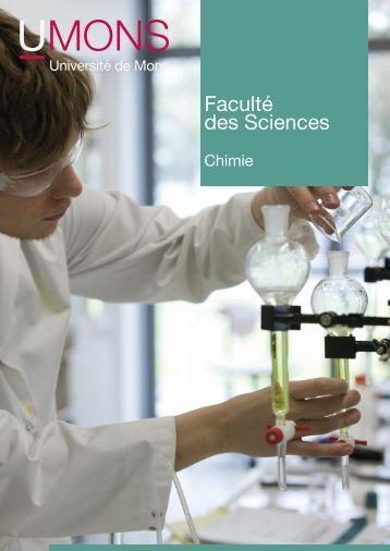 Faculté des Sciences - Université de Mons