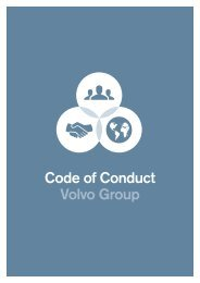 Code of Conduct Volvo Group