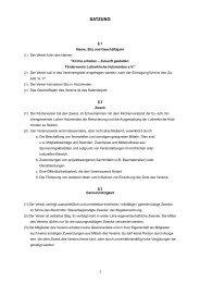 Satzung - Ev.-luth. Kirchengemeinde Luther Holzminden