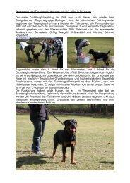 WP & ZTP 16.3. Boningen - Schweizerischer Rottweiler Hunde Club