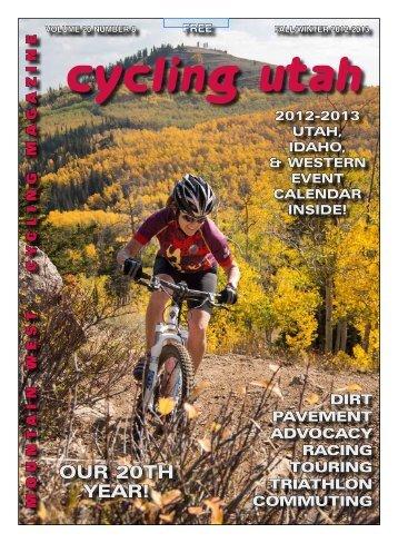 Fall Winter 2012 Issue - Cycling Utah