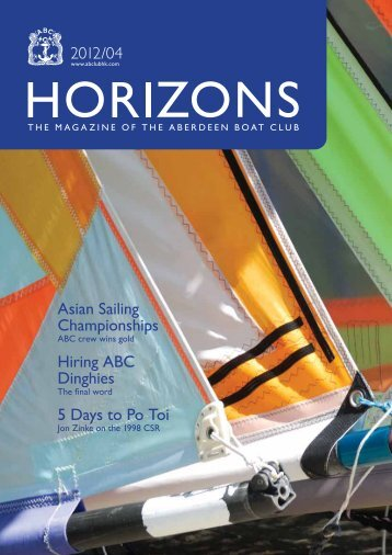 Apr 2012 Issue - the Aberdeen Boat Club