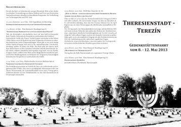 Theresienstadt - Veranstaltungen - Landesarbeitsgemeinschaft der ...