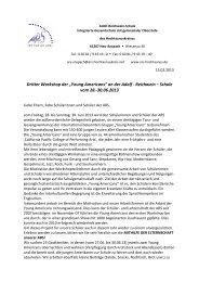 Anmeldebogen YA 2013-1x - Adolf Reichwein Schule