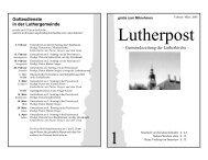 Beate Frohriep - Lutherkirche Kiel