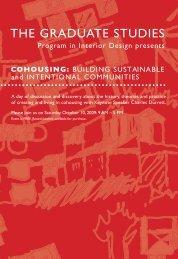THE GRADUATE STUDIES - Moore College of Art & Design