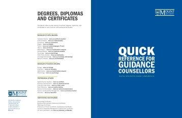 Degrees, Diplomas AnD Certificates - Mount Saint Vincent University