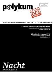 Nacht THEMA, Seite 19 - VSETH - ETH Zürich