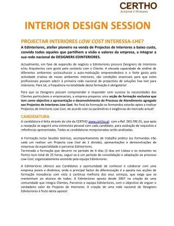 Oferta - Interior Design Session
