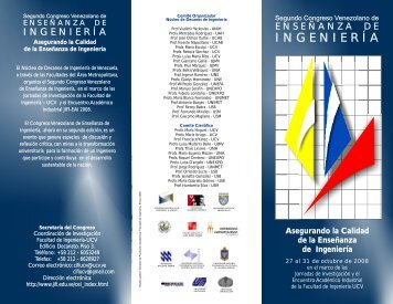 INGENIERÍA - Academia Nacional de la Ingeniería y el Hábitat