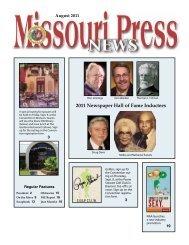 2011 Newspaper Hall of Fame Inductees - Missouri Press Association
