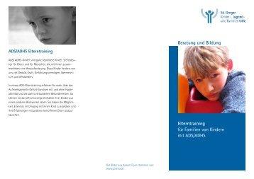 Beratung und Bildung Elterntraining für Familien von Kindern mit ...