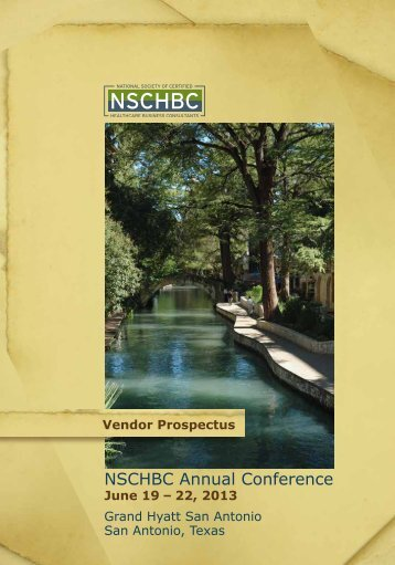 NSCHBC Annual Conference - National Society of Certified ...